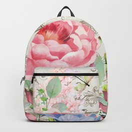Paris Flower Market III Backpack