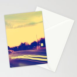 Chasing Pavements  Stationery Cards