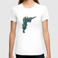 trooper T-shirts featuring Trooper by Scott Davidson