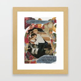 only the Lord knows Framed Art Print