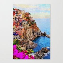 Italy, Cinque Terre Canvas Print