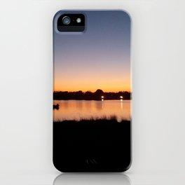 Sunset Reflect iPhone Case