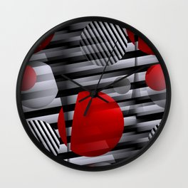3D for duffle bags and more -4- Wall Clock