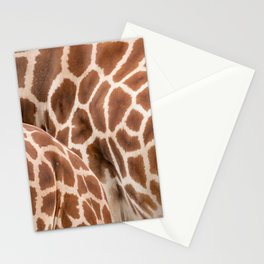Abstract giraffe picture Stationery Cards