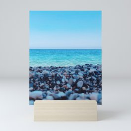 BEACH - SICILY Mini Art Print