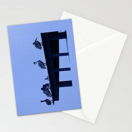 Blue Pelicans Stationery Cards