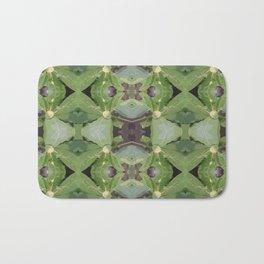 Almond Tree Pattern Bath Mat