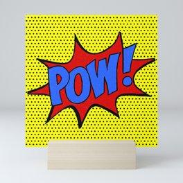 Pow! Mini Art Print