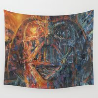 vader Wall Tapestries featuring Vader by artofJPH