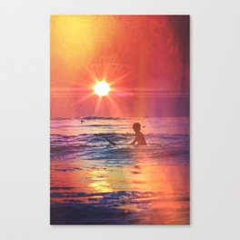 Vivid Summer Canvas Print