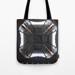 Under Eiffel HDR Tote Bag