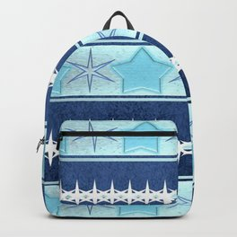 Winter patterns... Backpack