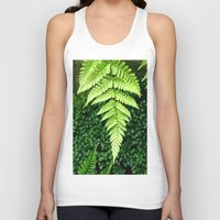 fern Tank Tops featuring Fern  by ArtistsWorks