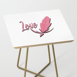 Love plume Side Table