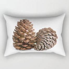 Two pinecones Rectangular Pillow