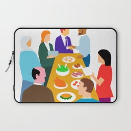 Diversity in Workplace Retro Laptop Sleeve