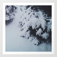 Winter Chills Art Print