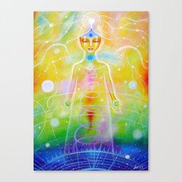 Reconnection Angel Canvas Print