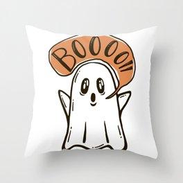 Booo Throw Pillow