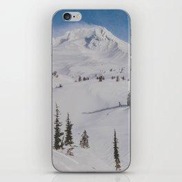 Snowy Mount Hood iPhone Skin