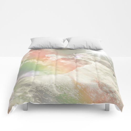 Mountains in The Sky Comforters