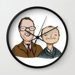 Vic & Bob Wall Clock