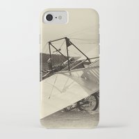 airplane iPhone & iPod Cases featuring Airplane by DistinctyDesign