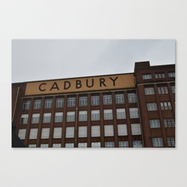 english chocolate Canvas Print