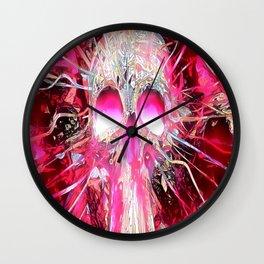 Immortal Skull Wall Clock