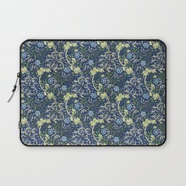 Blue Daisies by William Morris Laptop Sleeve