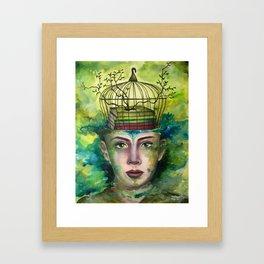 Top Secrets Framed Art Print