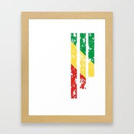 Proud Of  Republic Of  Congo - COG Framed Art Print