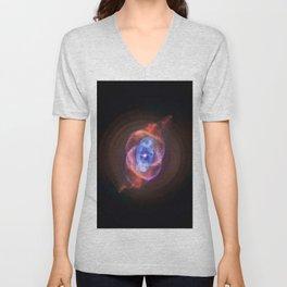 The Cat's Eye Nebula Redux (NASA's Chandra X-ray Observatory) Unisex V-Neck
