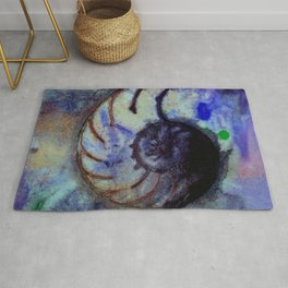 Sea Wish 1B by Kathy Morton Stanion Rug