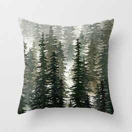 The Pathless Woods Throw Pillow