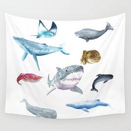 Ocean Friends Wall Tapestry