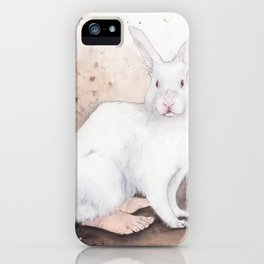 What If...?? Rabbits Had Feet. iPhone Case