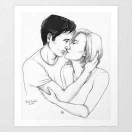 but you saved me Art Print