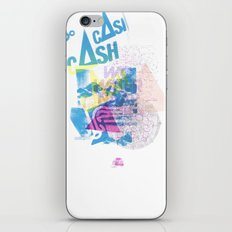 Cash Silk 001 iPhone & iPod Skin
