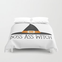 Boss Ass Witch Duvet Cover