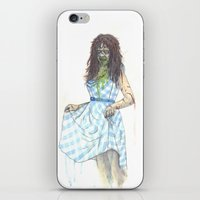 three of the possessed iPhone & iPod Skins featuring Regan (Possessed) by Monsters in Plaid