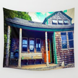 Zealand Hut Wall Tapestry