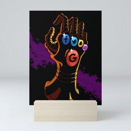 Comic Hands - Infinity Mini Art Print
