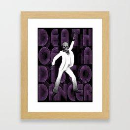 Death of a Disco Dancer Framed Art Print
