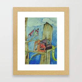 Welcome to My Crib Framed Art Print