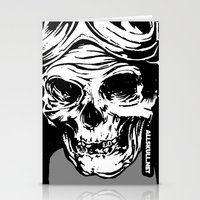 kindle Stationery Cards featuring 102 by ALLSKULL.NET