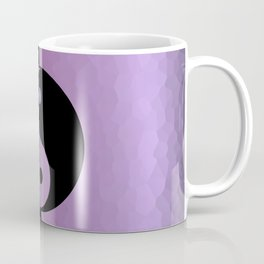 Yin And Yang Purple Coffee Mug