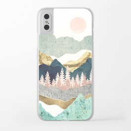 Summer Vista Clear iPhone Case