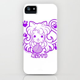 Kawaii Kiddies Cute Kitty iPhone Case
