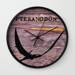 Pteranodon Wall Clock
